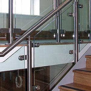 Перила со стеклом НЖ-31