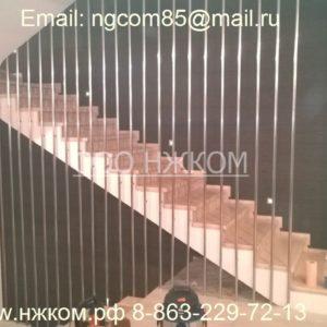 Нестандартные перила с вертикальным заполнением