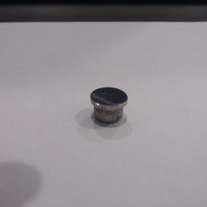 Заглушка ф16мм плоская