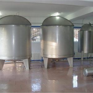 Емкости для молочной промышленности